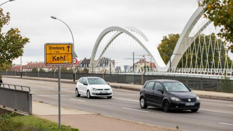 Les Strasbourgeois continuent d'aller tranquillement faire leurs courses en Allemagne