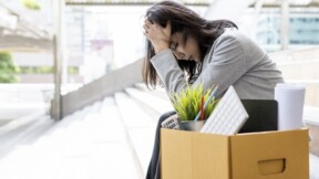 Hémorragie sur l'emploi dans la finance et l'assurance en France, en octobre