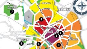 Immobilier à Reims : la carte des prix 2020