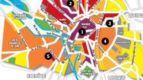 Immobilier à Dijon :  la carte des prix 2020