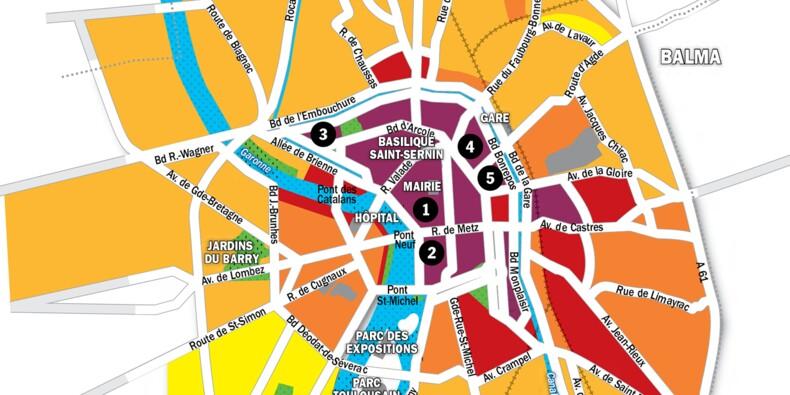 Immobilier à Toulouse : la carte des prix 2020