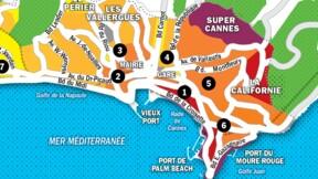 Immobilier à Cannes : la carte des prix 2020