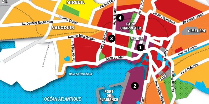 Immobilier à La Rochelle : la carte des prix 2020