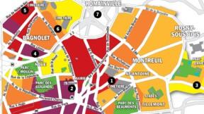 Immobilier à Montreuil, Bagnolet et Romainville : la carte des prix 2020