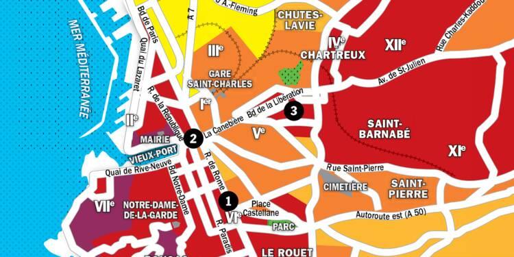 Immobilier à Marseille : la carte des prix 2020