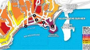 Immobilier à Nice : la carte des prix 2020