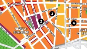 Immobilier à Neuilly et Levallois-Perret : la carte des prix 2020