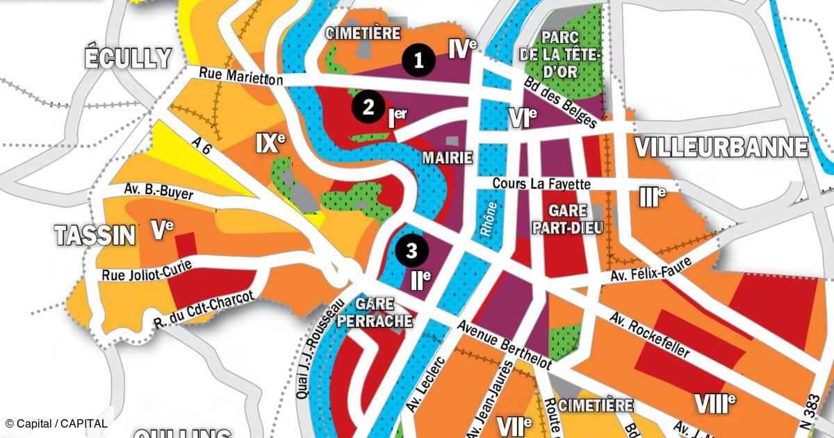 Immobilier A Lyon La Carte Des Prix 2020 Capital Fr