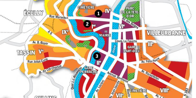 Immobilier à Lyon : la carte des prix 2020