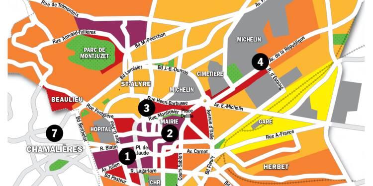 Immobilier à Clermont-Ferrand: la carte des prix 2020