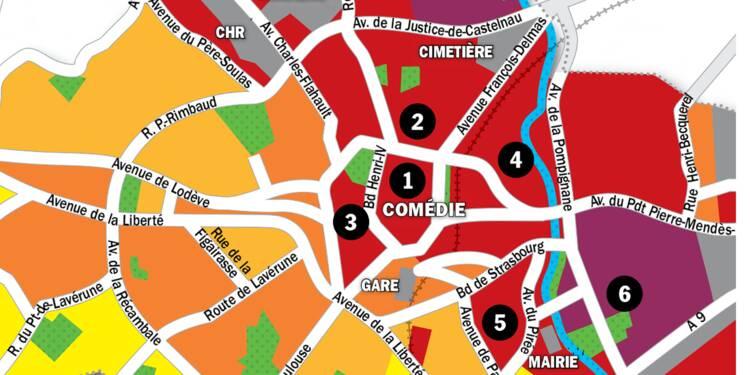Immobilier à Montpellier : la carte des prix 2020