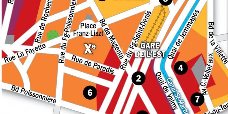Immobilier à Paris : la carte des prix 2020 dans le 10e arrondissement