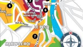 Immobilier à Marly-le-Roi, Le Pecq et Saint-Germain-en-Laye : la carte des prix 2020