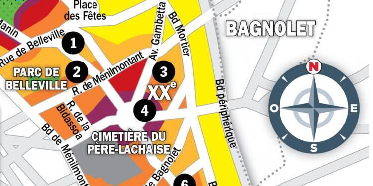 Immobilier à Paris : la carte des prix 2020 dans le 20e arrondissement