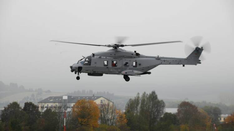 Airbus vend à l'Allemagne 31 hélicoptères NH90 NFH Sea Tiger pour sa marine