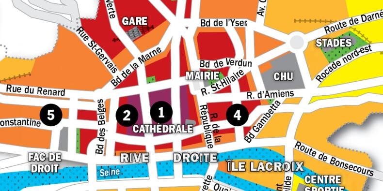 Immobilier à Rouen : la carte des prix 2020