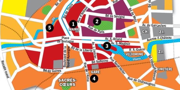Immobilier à Rennes : la carte des prix 2020