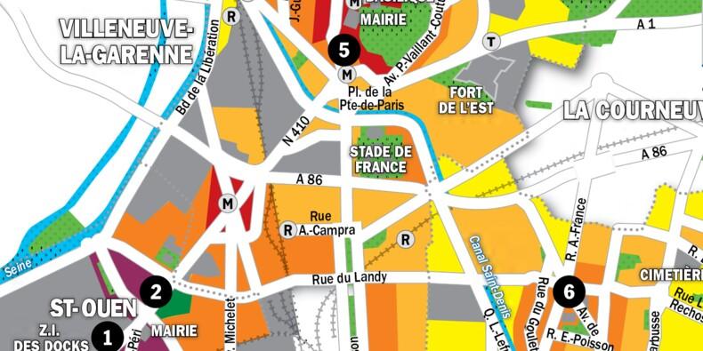 Immobilier à Saint-Ouen, Aubervilliers et Saint-Denis : la carte des prix 2020