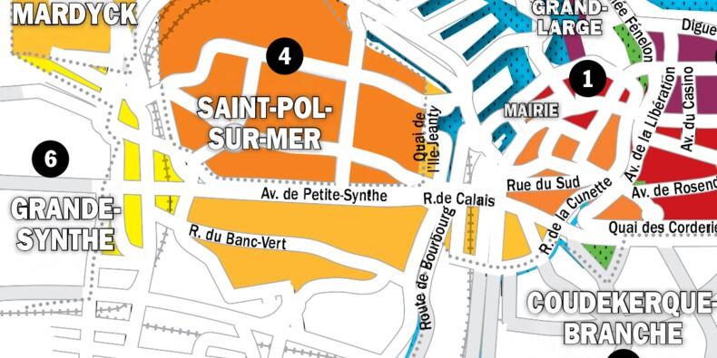 Immobilier à Dunkerque : la carte des prix 2020