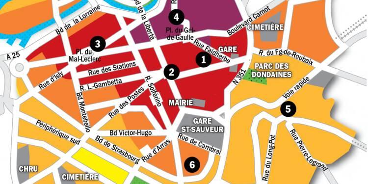 Immobilier à Lille : la carte des prix 2020