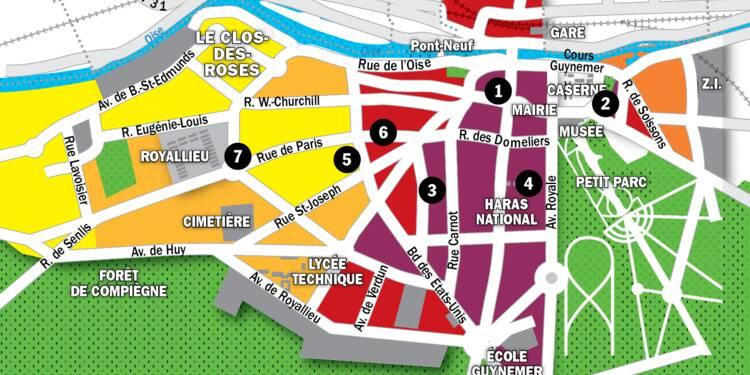 Immobilier à Compiègne : la carte des prix 2020