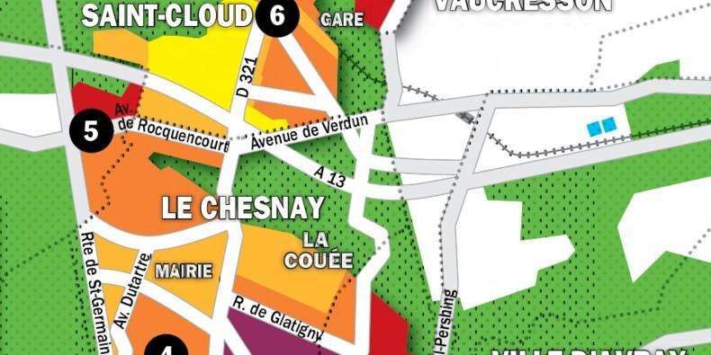 Immobilier à Versailles, Le Chesnay, La Celle-Saint-Cloud : la carte des prix 2020