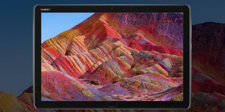 Huawei : 30% de remise sur la tablette MediaPad M5 Lite chez Amazon