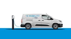 La gamme de fourgonnettes PSA Peugeot Citroën en version 100% électrique dès 2021
