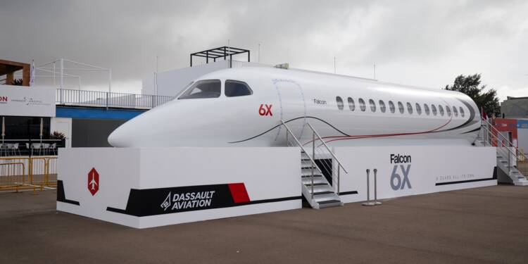 Dassault Aviation dévoile le Falcon 6X, son nouveau jet d'affaires