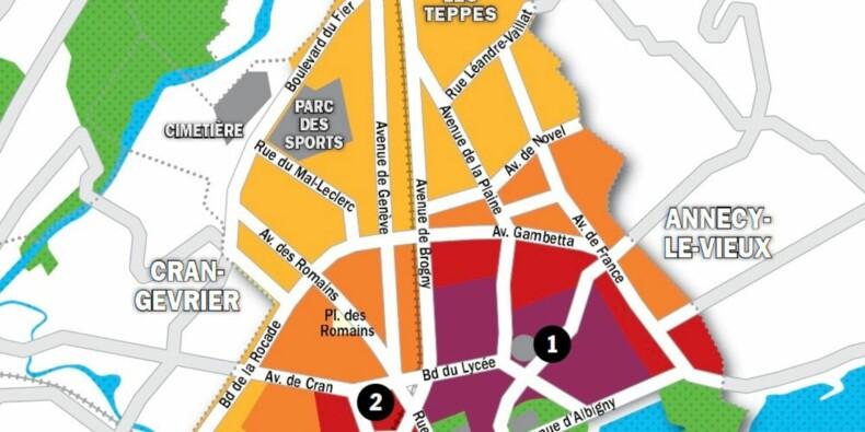 Immobilier à Annecy : la carte des prix 2020