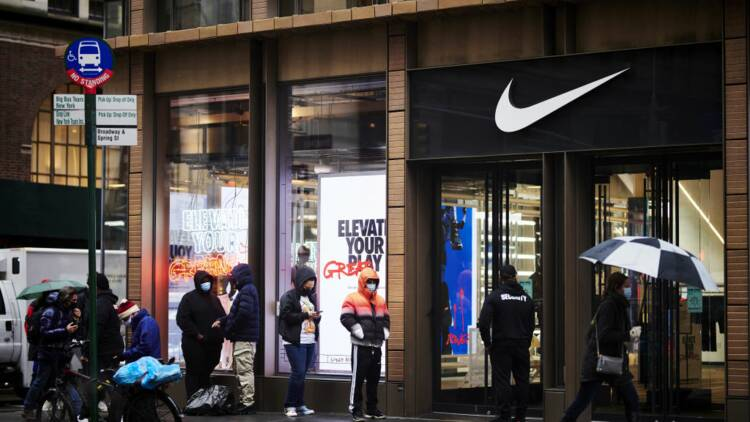 Les ventes de Nike bondissent grâce aux ventes en ligne et à la Chine