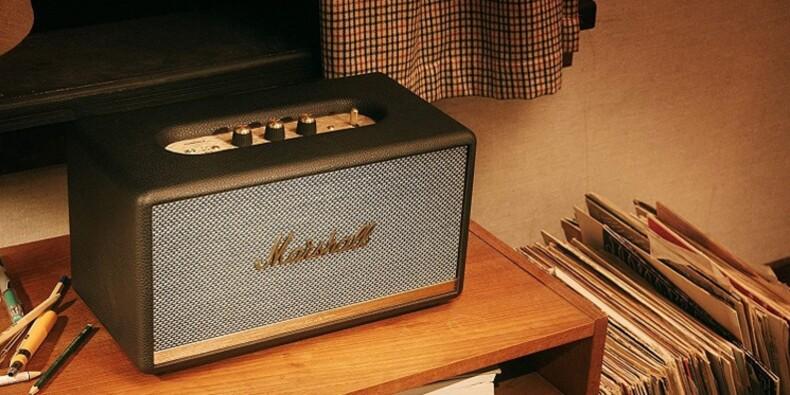 Amazon : -23% sur le haut-parleur sans fil Marshall Stanmore II