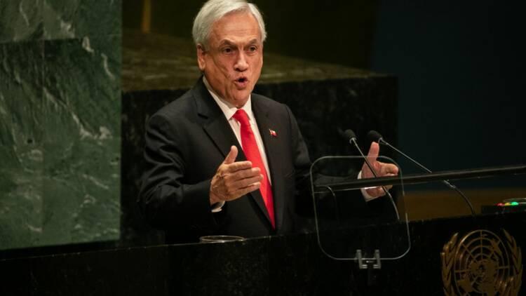 Le président chilien reçoit une amende pour non-port du masque