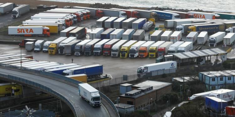 Covid-19 : des tests pour les routiers en provenance du Royaume-Uni ?