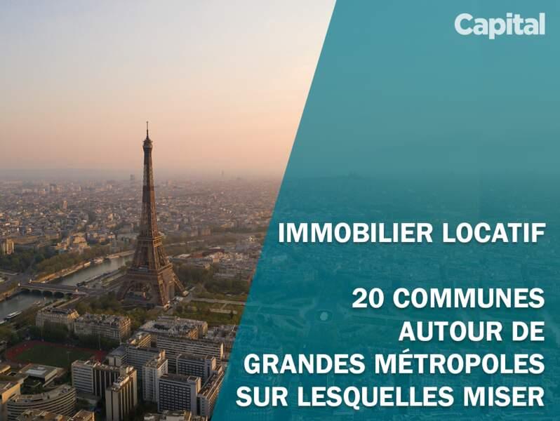 Immobilier locatif : 20 communes autour de grandes métropoles sur lesquelles miser