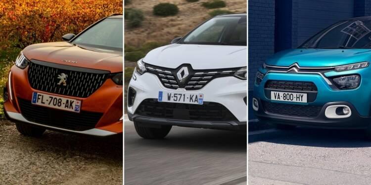 Les 10 voitures les plus vendues en France en 2020