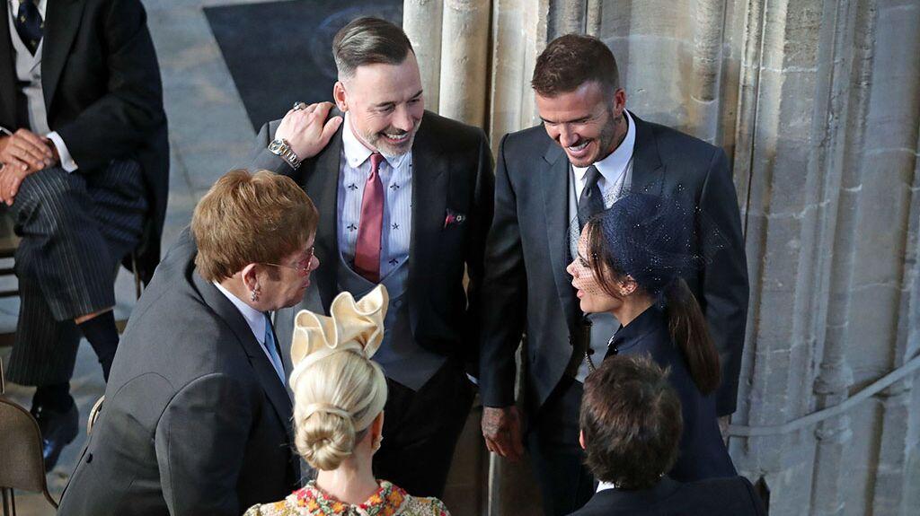 Zerwürfnis zwischen Harry und David Beckham, nachdem Victoria bei Meghan in Ungnade fällt