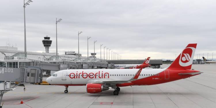 Vols Air Berlin annulés: 100.000 clients pas ou peu remboursés