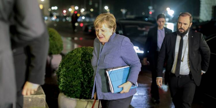 Coalition inédite ou élections anticipées: les Allemands bientôt fixés