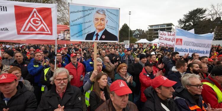 Allemagne: lourde perte annuelle pour Thyssenkrupp