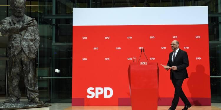 Allemagne: les sociaux-démocrate prêts à aider Merkel, sous condition