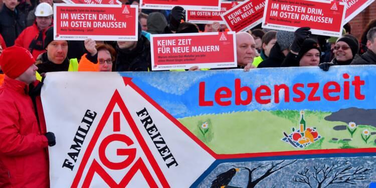Bras de fer social en Allemagne sur la semaine de 28 heures