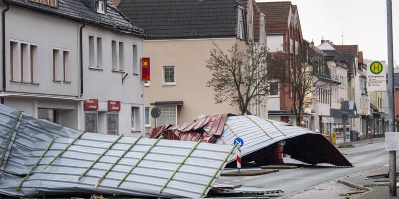 Tempête: 8 morts dans le nord de l'Europe et chaos dans les transports