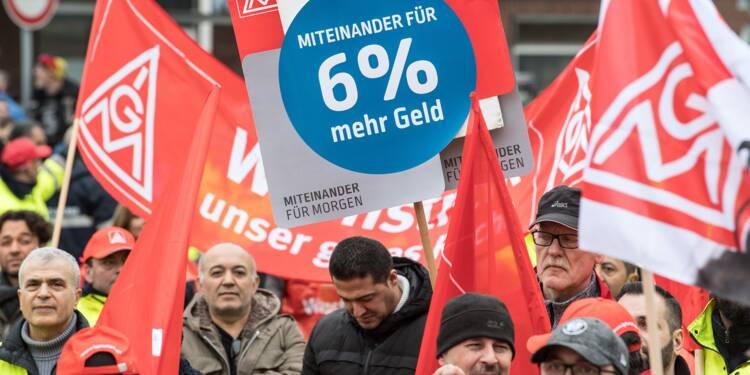 Le conflit social s'enlise dans la métallurgie allemande