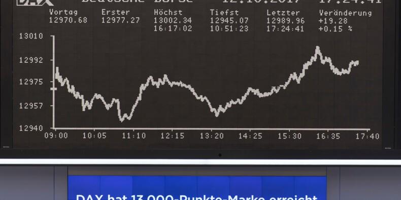 Les Bourses européennes en fort recul, sous la pression des Etats-Unis