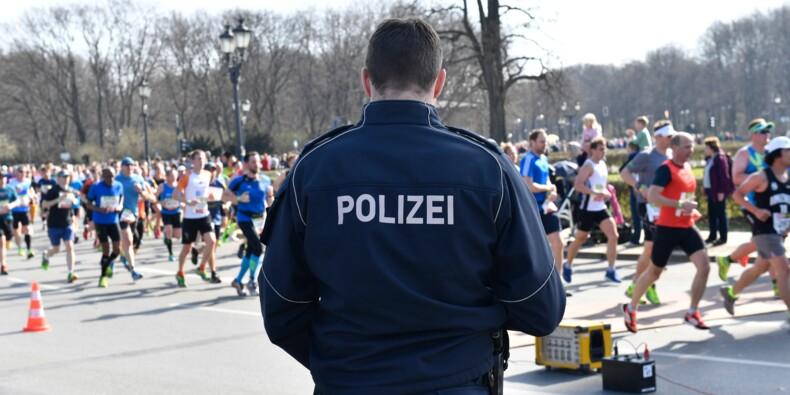 """Semi-marathon de Berlin: six interpellations de crainte d'un """"acte violent"""""""
