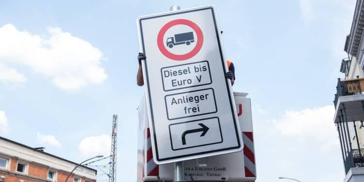 Allemagne: première interdiction pour le diesel