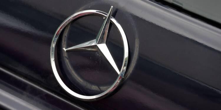 Dieselgate: l'Allemagne fait rappeler près de 800.000 Mercedes en Europe
