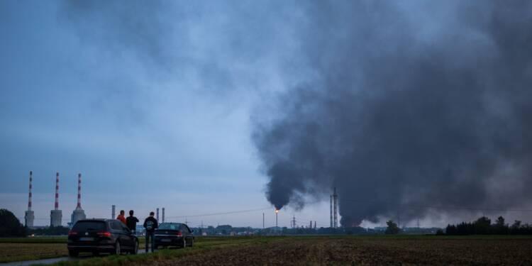 Allemagne : dix blessés dans un incendie dans une raffinerie