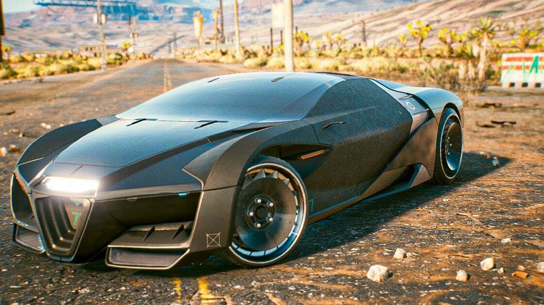 Cyberpunk 2077 : meilleures voitures et motos du jeu ...